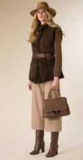 Nuova-collezione-abbigliamento-Luisa-Spagnoli-gilet-e-pantalone-culotte-autunno-inverno-2015-2016