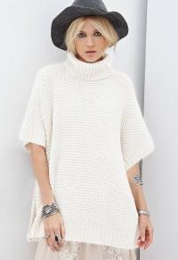 2015-Autumn-New-Fashion-font-b-Sweaters-b-font-Women-Casual-White-pullover-font-b-Turtleneck
